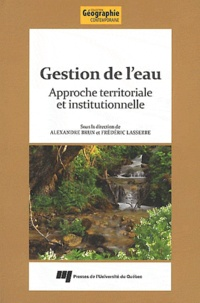 Gestion de leau - Approche territoriale et institutionnelle.pdf