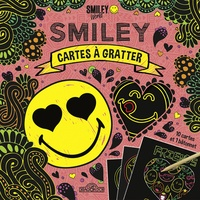 Alexandre Debrot - Cartes à gratter Smiley Friends - Avec 1 bâtonnet.