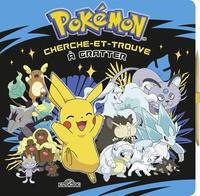 Alexandre Debrot - Cherche-et-trouve à gratter Pokémon.