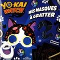 Alexandre Debrot - Mes masques à gratter Yo-kai watch.