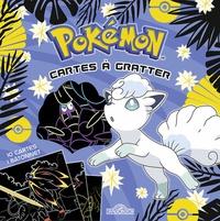 Alexandre Debrot - Pokémon Cartes à gratter Goupix d'Alola - Avec 10 cartes, 1 bâtonnet.