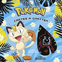 Alexandre Debrot - Pokémon Cartes à gratter Miaouss - Avec 6 cartes, 1 bâtonnet.