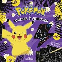Alexandre Debrot - Pokémon Cartes à gratter Pikachu à Alola - Avec 10 cartes, 1 bâtonnet.