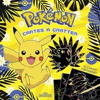 Alexandre Debrot - Pokémon Cartes à gratter Pikachu - Avec 10 cartes, 1 bâtonnet.