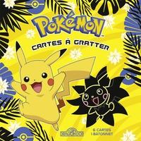 Alexandre Debrot - Pokémon Cartes à gratter Pikachu - Avec 6 cartes, 1 bâtonnet.