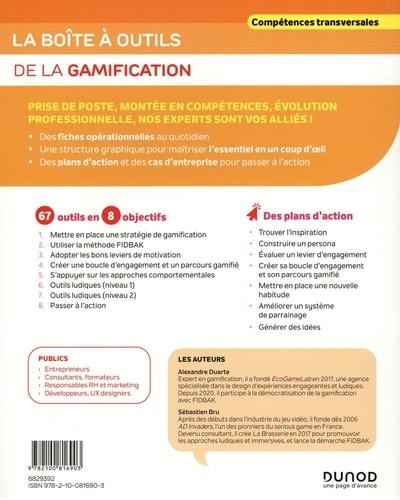 La boîte à outils de la gamification. 67 outils clés en mains + 7 plans d'action
