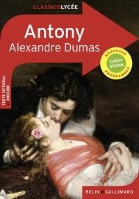 Alexandre Dumas - Antony.