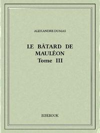 Alexandre Dumas - Le bâtard de Mauléon III.