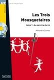 Alexandre Dumas - LFF A2 - Les Trois mousquetaires - Tome 1 (ebook).