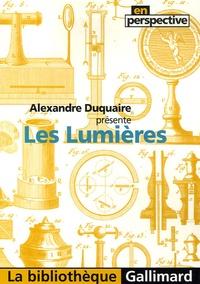 Alexandre Duquaire - Les Lumières.