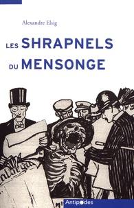 Coachingcorona.ch Les Shrapnels du mensonge - La Suisse face à la propagande allemande de la Grande Guerre Image