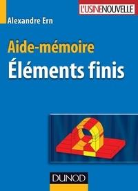 Eléments finis - Aide-mémoire.pdf