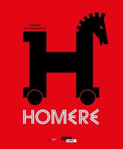 Alexandre Farnoux et Alain Jaubert - Homère - L'album de l'exposition.
