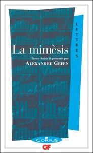 Alexandre Gefen - La mimèsis.