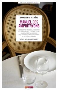 Histoiresdenlire.be Manuel des Amphitryons Image