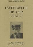 Alexandre Grine - L'Attrapeur de rats.