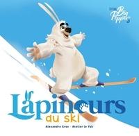 Alexandre Gros - Lapinours au ski.