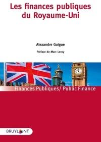 Alexandre Guigue - Les finances publiques du Royaume-Uni.