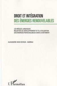 Deedr.fr Droit et intégration des énergies renouvelables - Les règles juridiques relatives au développement et à l'utilisation des énergies renouvelables dans le bâtiment Image