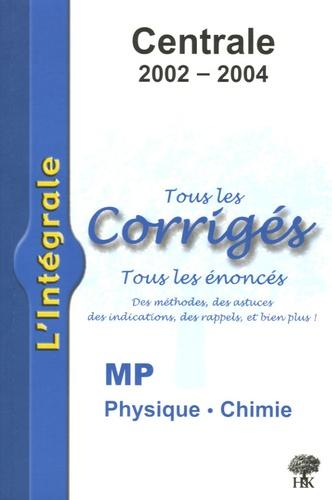 Alexandre Hérault et Stéphane Ravier - Physique et Chimie MP Centrale 2002-2004.
