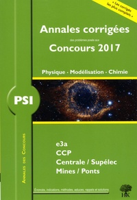 Alexandre Hérault et Stéphane Ravier - PSI Physique, Modélisation, Chimie.
