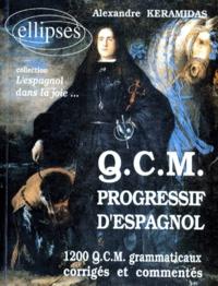 QCM PROGRESSIF DESPAGNOL. 1200 QCM grammaticaux corrigés et commentés.pdf
