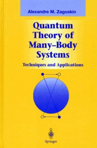 Deedr.fr QUANTUM THEORY OF MANY-BODY SYSTEMS. - Techniques and applications Image