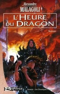 Alexandre Malagoli - Genesia - Les Chroniques Pourpres Tome 3 : L'Heure du dragon.