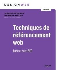Alexandre Martin et Mathieu Chartier - Techniques de référencement web - Audit et suivi SEO.