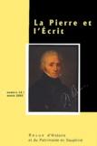 Alexandre Morin et Guy Chaffenet - La Pierre et l'Esprit N° 14 année 2003 : .
