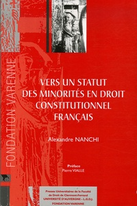 Deedr.fr Vers un statut des minorités en droit constitutionnel français Image