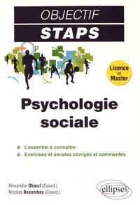 Alexandre Oboeuf et Nicolas Besombes - Psychologie sociale.