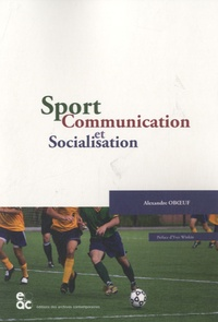 Alexandre Oboeuf - Sport, communication et socialisation.