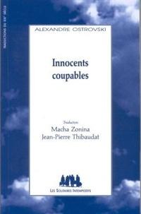 Alexandre Ostrovski - Innocents coupables.