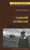 Alexandre Pagès - La pauvreté en milieu rural.