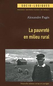 Top ebook téléchargement gratuit La pauvreté en milieu rural in French PDF 9782810701681 par Alexandre Pagès