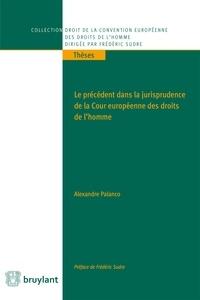 Le précédent dans la jurisprudence de la Cour européenne des droits de l'Homme - Alexandre Palanco pdf epub