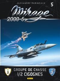 Alexandre Paringaux et Frédéric Lert - Mirage 2000-5 - Tome 5, Groupe de chasse 1/2 cigognes.