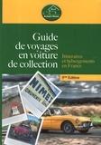 Alexandre Pierquet - Guide de voyages en voiture de collection - Itinéraires et hébergements en France.