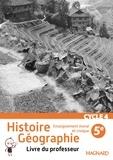 Alexandre Ployé et Laurent Bonnet - Histoire Géographie Enseignement moral et civique 5e Cycle 4 - Livre du professeur.