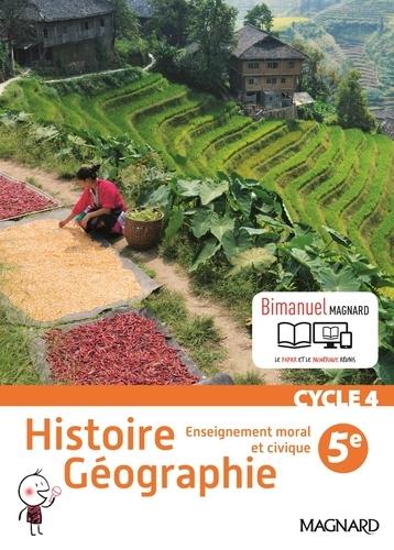 Histoire géographie, enseignement moral et civique 5e  Edition 2016