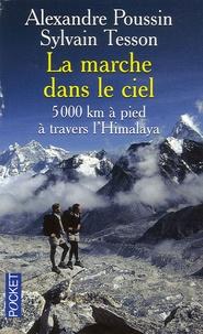 Alexandre Poussin et Sylvain Tesson - La marche dans le ciel - 5 000 Kilomètres à pied à travers l'Himalaya.