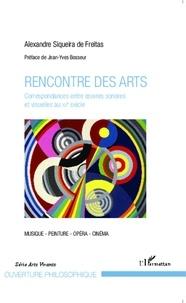 Alexandre Siqueira de Freitas - Rencontre des arts - Correspondances entre oeuvres sonores et visuelles au XXe siècle.
