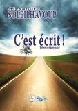 Alexandre Soleilhavoup - C'est écrit !.