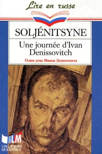 Alexandre Soljénitsyne - Une jour d'Ivan Denissovitch - Edition en langue russe.
