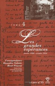Deedr.fr Correspondance Alexandre Vialatte - Henri Pourrat (1916-1959) - Tome 4, Les Grandes Espérances (janvier 1928 - octobre 1934) Image