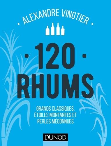 120 Rhums - 9782100747689 - 11,99 €