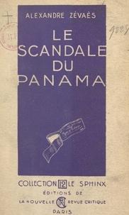 Alexandre Zévaès - Le scandale du Panama.