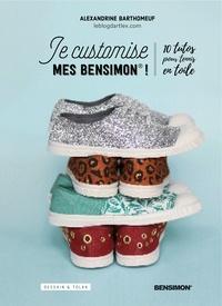 Alexandrine Barthomeuf - Je customise mes Bensimon - 10 tutos pour tennis en toile.