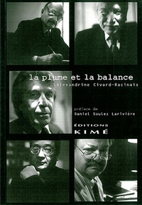 Alexandrine Civard-Racinais - La plume et la balance.